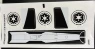 7915stk01 STAR WARS Imperial V-wing Starfighter NIEUW loc