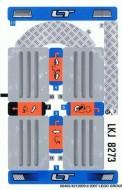 8273stk01 STICKER Off Road Truck NIEUW *0S0000