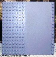 30225-85G Basisplaat 16x16 met weg Grijs,donker-blwachtig gebruikt loc