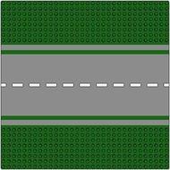 610p01-6G Wegenplaat 32x32 recht MET fietspad LET OP GROEN!! Groen gebruikt loc