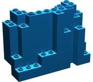 6082-7 Rechthoekig rotsstuk (BURP) LET OP: Kan niet door brievenbus, pakketzending Blauw NIEUW loc