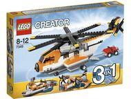 Set 7345 - Airport: Transport Chopper- Nieuw