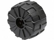 2515-11G Hardplastic wiel groot (54x30) PAST NIET DOOR BRIEVEMNBUS Zwart gebruikt loc