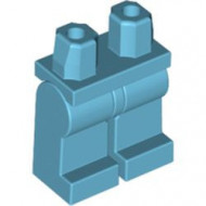 970c00-156 Benen en heupen gelijke kleur blauw, middenazuur NIEUW *2B000