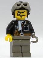 adv036G Lord Sam Sinister met helm and Goggles gebruikt loc