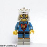 cas035G Knights Kingdom - King Leo gebruikt *0M0000