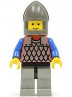 cas158G Scale Mail - rode, Chin-Guard, Gray benen, blauw armen gebruikt loc