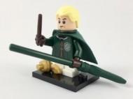 colhp-4 HP Draco Malfoy met bezemsteel NIEUW loc