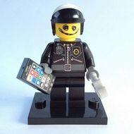 coltlm-7 Scribble-Face Bad Cop (Politie) met handboeien, Octan smartphone en standaard NIEUW *0M0000