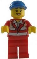cty317G Paramedisch-Rood uniform, vrouw gebruikt loc