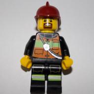 cty342 Brandweerman rode helm NIEUW *0M0000