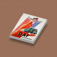 CUS1025 Tegel 2x3 DAF Vrachtauto wit NIEUW loc Auto's