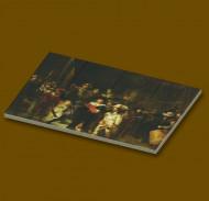 CUS4007 12 tegels 2x2 De Nachtwacht- Rembrandt van Rijn wit NIEUW *0A000