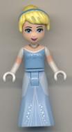 dp022 Disney Prinsess- Cinderella lichtblauwe jurk NIEUW *0M0000