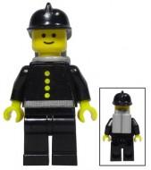 fire0019sG Brandweer - City Center met Black Brandweer helm gebruikt loc