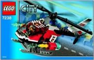 INS7238-G 7238 BOUWBESCHRIJVING- Fire Helicopter gebruikt *LOC M3