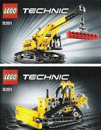 INS9391-G 9391 BOUWBESCHRIJVING- Mini/bulldozer gebruikt *