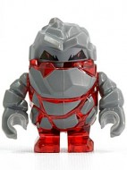 pm003G Power Miners- Rock monster Meltrox (Trans rood) grbruiik loc