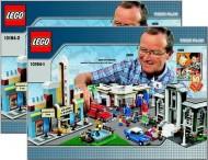 Set 10184 BOUWBESCHRIJVING- Town Plan gebruikt loc LOC M6
