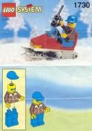 Set 1730 BOUWBESCHRIJVING- sneeuwscooter gebruikt loc LOC M1