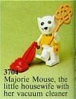 Set 3704-G - Fabuland: Majorie Mouse -/-/100%- gebruikt
