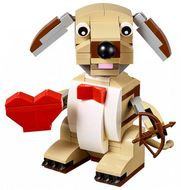 Set 40201 - Holiday: Valentine's Cupid Dog- Nieuw