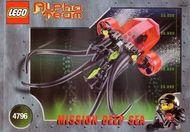 Set 4796 BOUWBESCHRIJVING- Alpha Team- Ogel Mutant Squid Alpha Team gebruikt loc