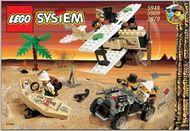 Set 5948 BOUWBESCHRIJVING- Desert Expedition Adventures gebruikt loc