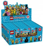 Set 6175012 COMPLETE DOOS 60 Minifigs serie 17 NIEUW loc