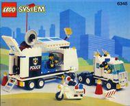 Set 6348 BOUWBESCHRIJVING- Surveillance Squad Ruimtevaart gebruikt loc LOC M2