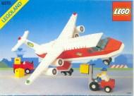 Set 6375 BOUWBESCHRIJVING- Trans Air Carrier gebruikt loc LOC M2