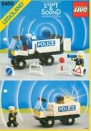 Set 6450 BOUWBESCHRIJVING- Mobile Police Truck gebruikt loc LOC M2