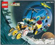 Set 6492 BOUWBESCHRIJVING-  Tiime Cruisers- Hypno Cruiser Politie gebruikt loc