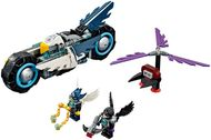 Set 70007 - Legends of Chima: Eglor's Twin Bike zonder doos- gebruikt