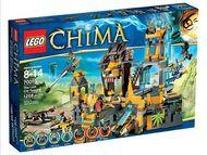 Set 70010 - Legends of Chima: The Lion CHI temple- Nieuw