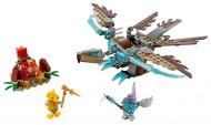 Set 70141 - Legends of Chima: Vardy's Ice Vulture Glider zonder doos- gebruikt