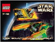 Set 7133 - Star Wars: Bounty Hunter Persuit- Nieuw