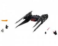 Set 75179-GB Kylo Ren's TIE fighter gebruikt deels gebouwd *B036