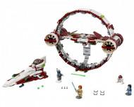 Set 75191-GB Jedi Starfighter with Hyperdrive gebruikt deels gebouwd *B036