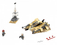 Set 75204-GB Sandspeeder gebruikt deels gebouwd *B036