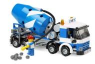 Set 7990-G - Town: Cement Mixer zonder doos- gebruikt
