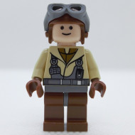 sw0160G Star Wars:Naboo Fighter Pilot (7660) gebruikt *0M0000