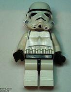 sw036G Star Wars:Stormtrooper geel hoofd gebruikt loc