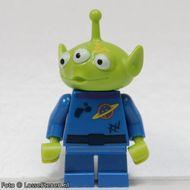 toy015 Alien (Toy Story) gele moddervlek op wang NIEUW loc