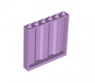 23405-154 Paneel 1x6x5 met planken (zijkanten) lavender NIEUW loc