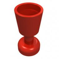 2343-5G Bokaal rood gebruikt *0L0000