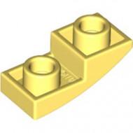 24201-103 Omgekeerde dakpan 2x1 rond geel, lichthelder NIEUW *1B000