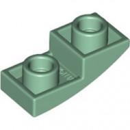 24201-48 Omgekeerde dakpan 2x1 rond groen, zandkleurig NIEUW *1B000