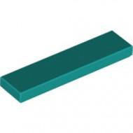 2431-39 Tegel 1x4 turquoise, donker NIEUW *1L0000