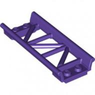 26022-89 Baan rollercoaster recht paars, donker NIEUW *